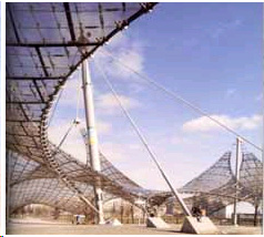 Red Sky Shelters The History Of Tensile Architecture - Tensile architecture